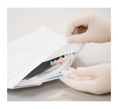 Peelable foil laminates for non porous applications